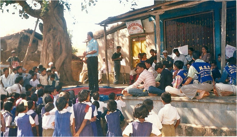 A dialogue with hopes of better tomorrow at Rohile (Tryambakeshwar)